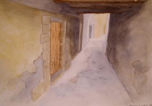 Alley in Quarante
