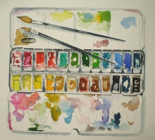 My paintbox