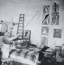 Matisse planning the windows