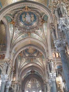 Mosaic interior.