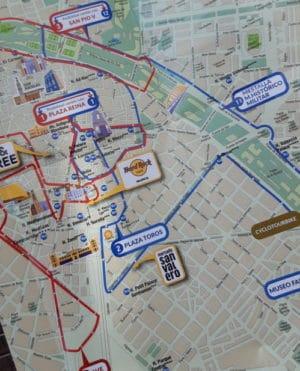 Bus trip in Valencia