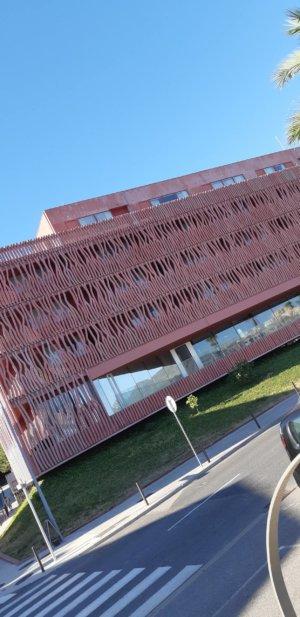 Unusual building.