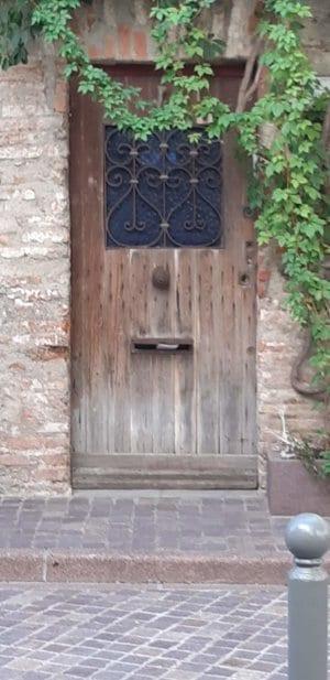 Delightful old door.